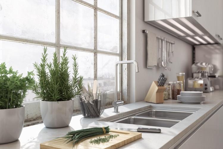 Kleine Küche optimal einrichten » 8. geniale Einrichtungstipps